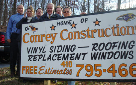 Conrey Construction Sign Staff